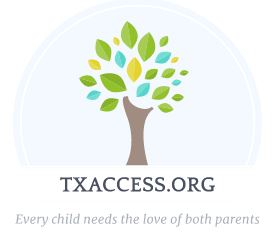 Texas Access and Visitation Hotline Logo