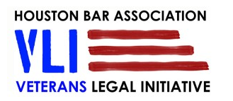Houston Bar Association Veterans Legal Initiative Logo